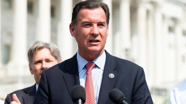 U.S. Representative Tom Suozzi (D-NY) speaking at a