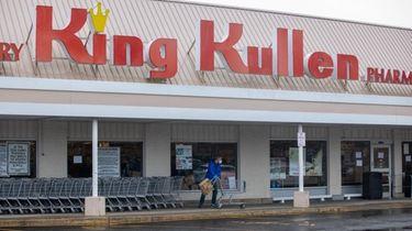 A King Kullen in Hungtington, April 3, 2020.
