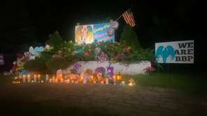Residents of Gabby Petito's hometown honored the 22-year-old