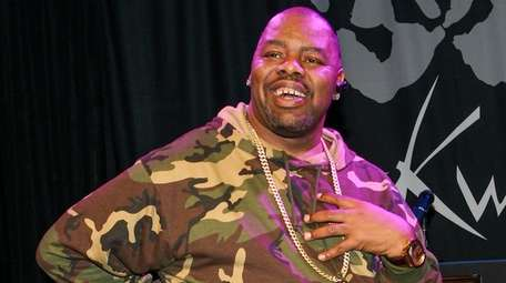 Rapper Biz Markie on March 6, 2014, in