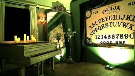 This wall-sized Ouija board is one of the