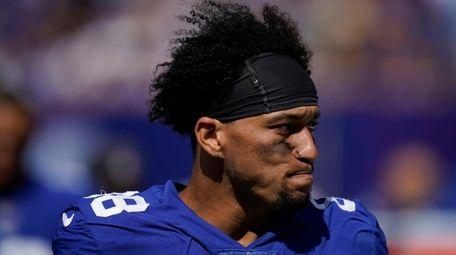New York Giants tight end Evan Engram during