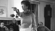 "Erica Abeel, author of ""The Commune,"" in the"