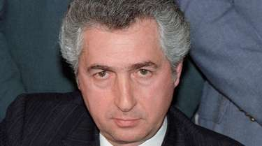 Philip Caruso in 1987 as president of the