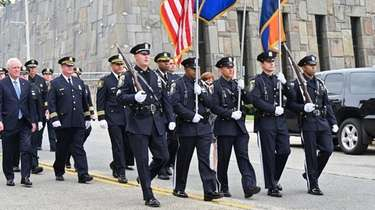 Annual Police Officer's Memorial Remembrance Ceremony on the