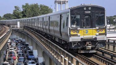 Long Island Rail Road ridership remains at around