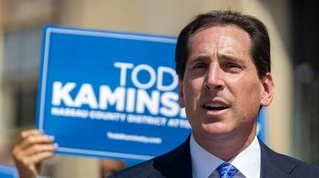 Todd Kaminsky, the Democratic candidate for Nassau County