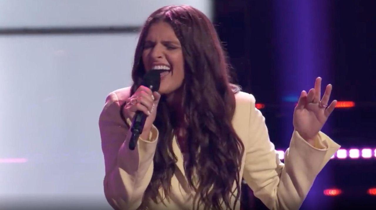"LIer Bella DeNapoli performed Danity Kane's ""Damaged"" on"