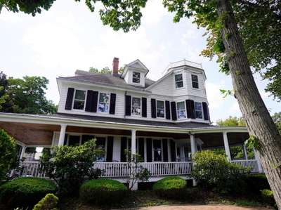 A historic home in Sea Cliff, shown Sept.