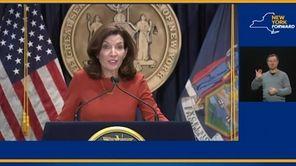 On Thursday, Gov.Kathy Hochul saysshe'sconfidenta judge will rule