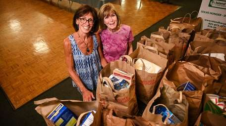 Carol Werblin, left, and Sue Seiler met while