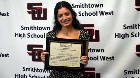 The Sills Madison Friscia Foundation scholarship recipient is a