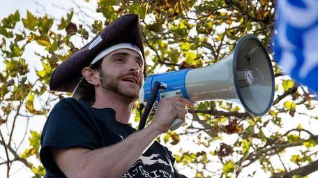 Shawn Farash, co-founder of Long Island Loud Majority.