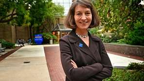 Susan Poser on Friday was introduced as Hofstra