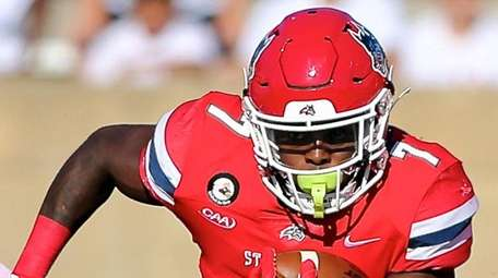 Stony Brook RB Ty Son Lawton takes the