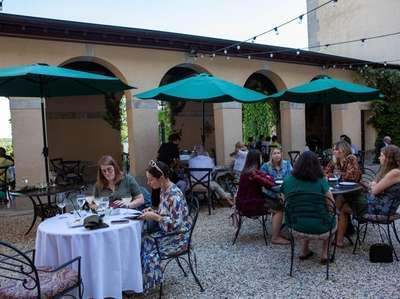 The Courtyard Piazza at the OHK Bar and