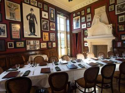 The private dining room at the OHK Bar