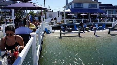 Buoy Bar in Point Lookout.