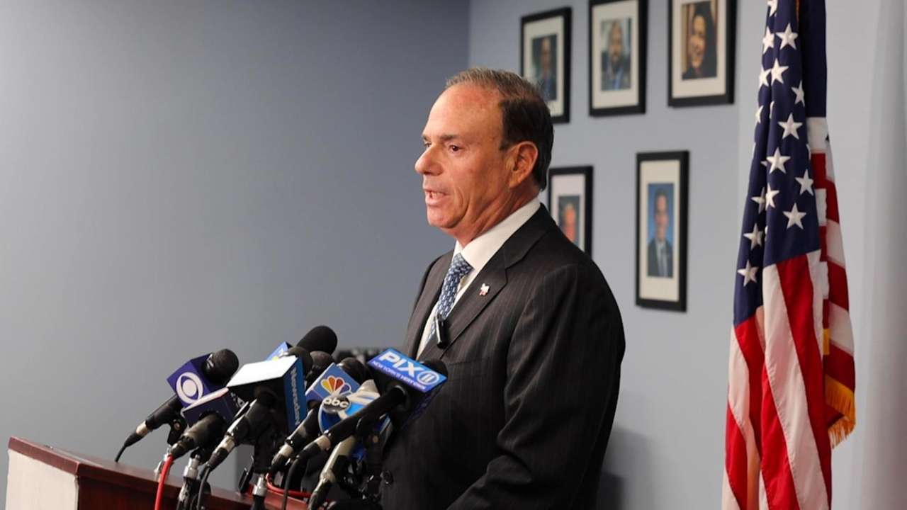 Nassau County Democratic chairman Jay Jacobs on Monday
