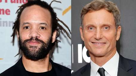 Savion Glover, left, will do the choreography for