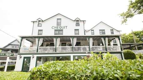 The Chequit on Shelter Island.