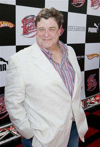 John Goodman on the red carpet at a