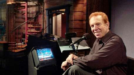 """Alan Kalter, announcer for the """"Late Show with"""