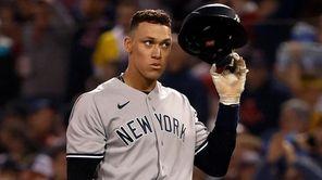 New York Yankees right fielder Aaron Judge had