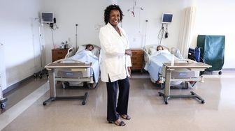 Rose Ann Polite is a nurse for NewYork-Presbyterian