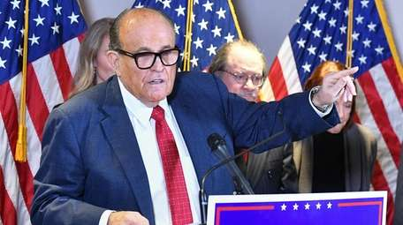 Rudy Giuliani, 77, appears broke and faces a