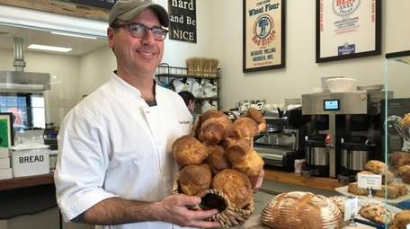 David Shalam, a popover specialist, at his Heritage