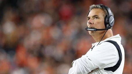 Head coach Urban Meyer of the Jacksonville Jaguars