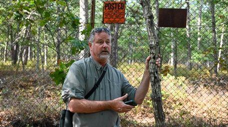 John Turner, founder of Long Island Pine Barrens