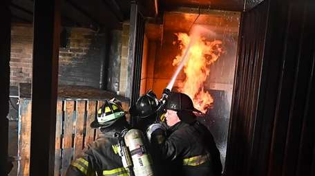 The Suffolk County Fire Academy in Yaphank hosted
