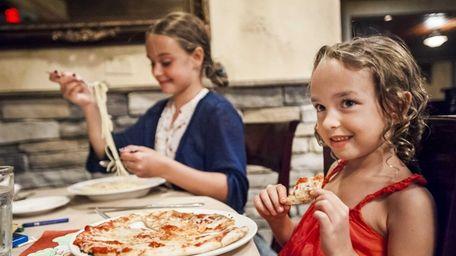 Butera's, Smithtown ON THE CHILDREN'S MENU Pasta with