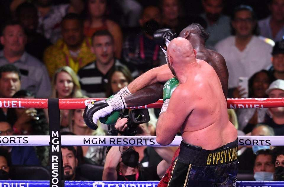 WBC heavyweight champion Tyson Fury of Great Britain