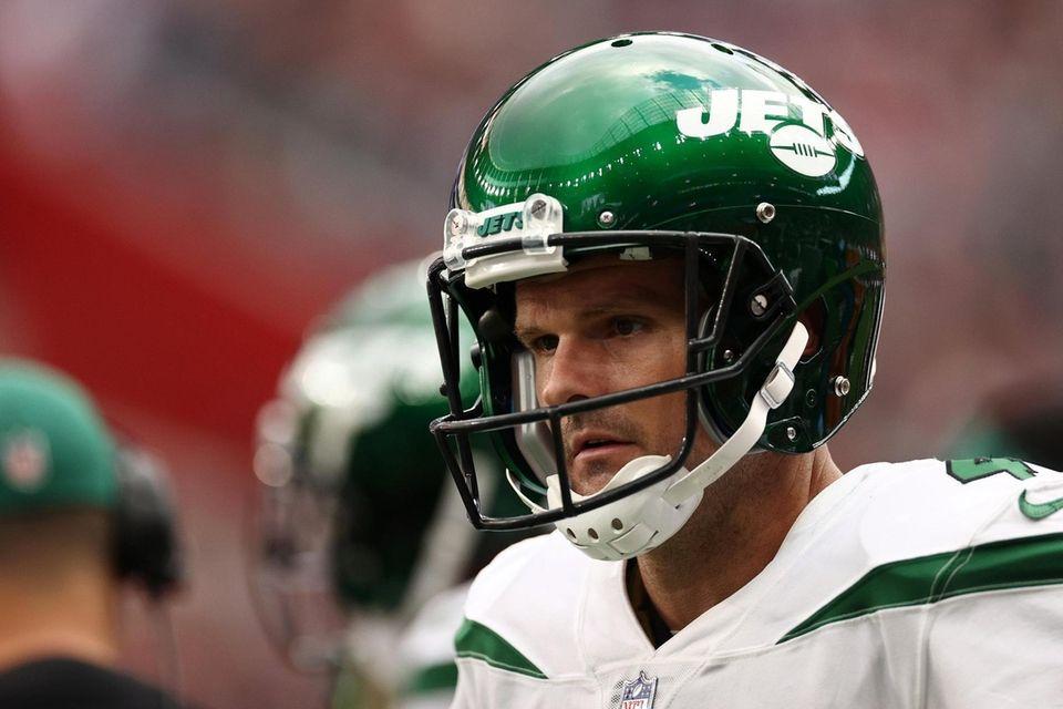 Thomas Morstead #4 of the New York Jets