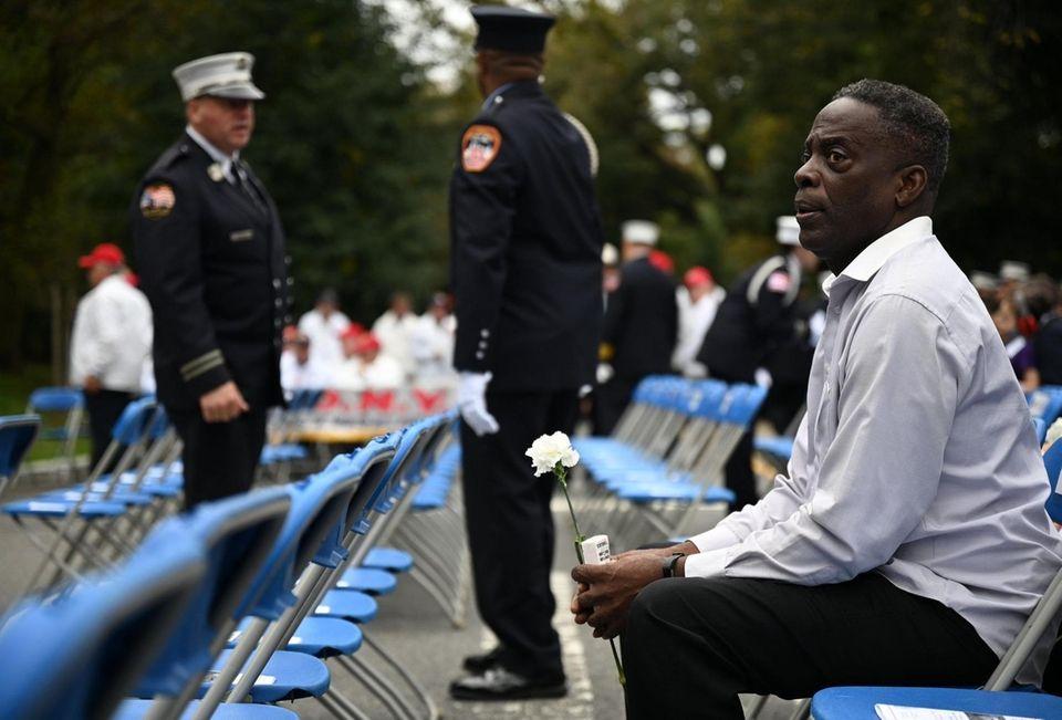 Larry Johnson remembers his friend, EMT Azzedin Ahmed,