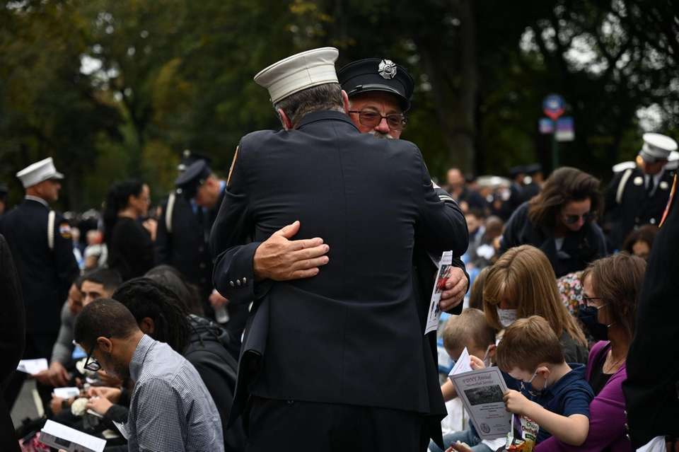 Ten FDNY members who have died in the