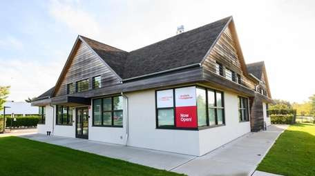 The Weill Cornell office, on Montauk Highway, offers
