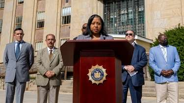 Acting Nassau District Attorney Joyce Smith calls for