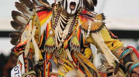 The Redhawk Native American Arts Council's annual pow