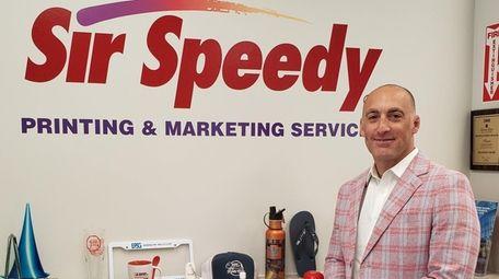 Evan Bloom, co-owner of three Sir Speedy franchise