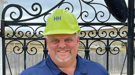 Mark Angarola, co-founder of Point Lookout-based startup HardHats,