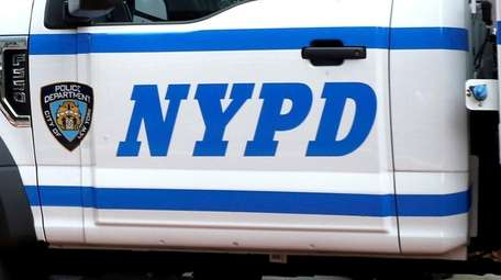 An NYPD officer was in custody Wednesday night