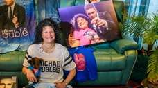 Michael Bublé superfan Melody Cesare, seen at her
