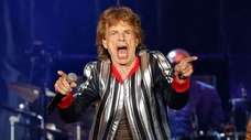"""Rolling Stones frontman Mick Jagger, who wrote """"Brown"""