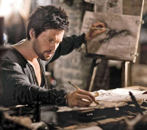 British actor Tom Riley stars as Leonardo da