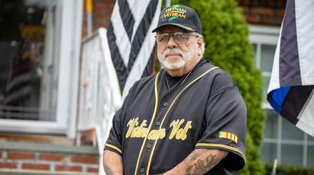 Vietnam veteran John Baptisto Fiore, of Glen Cove,
