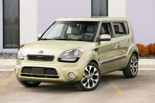Despite its funky design, the 2013 Kia Soul